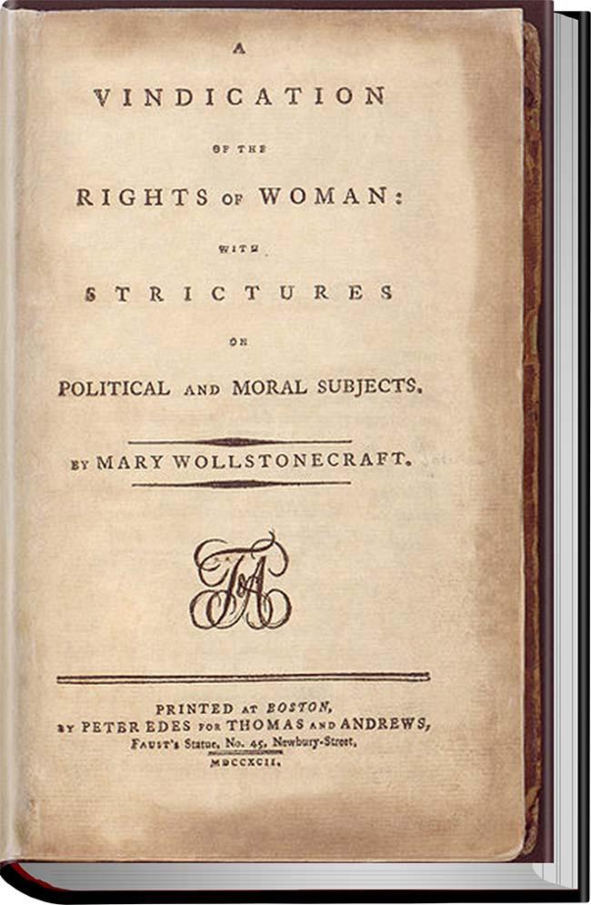 کتاب A Vindication of the Rights of Woman