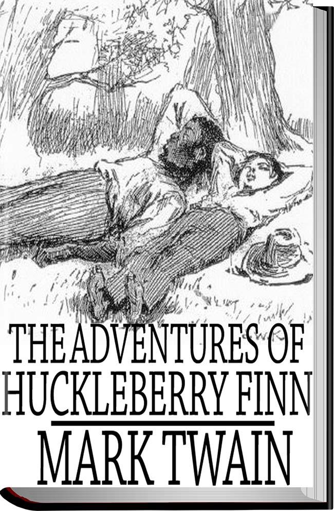 کتاب The Adventures of Huckleberry Finn